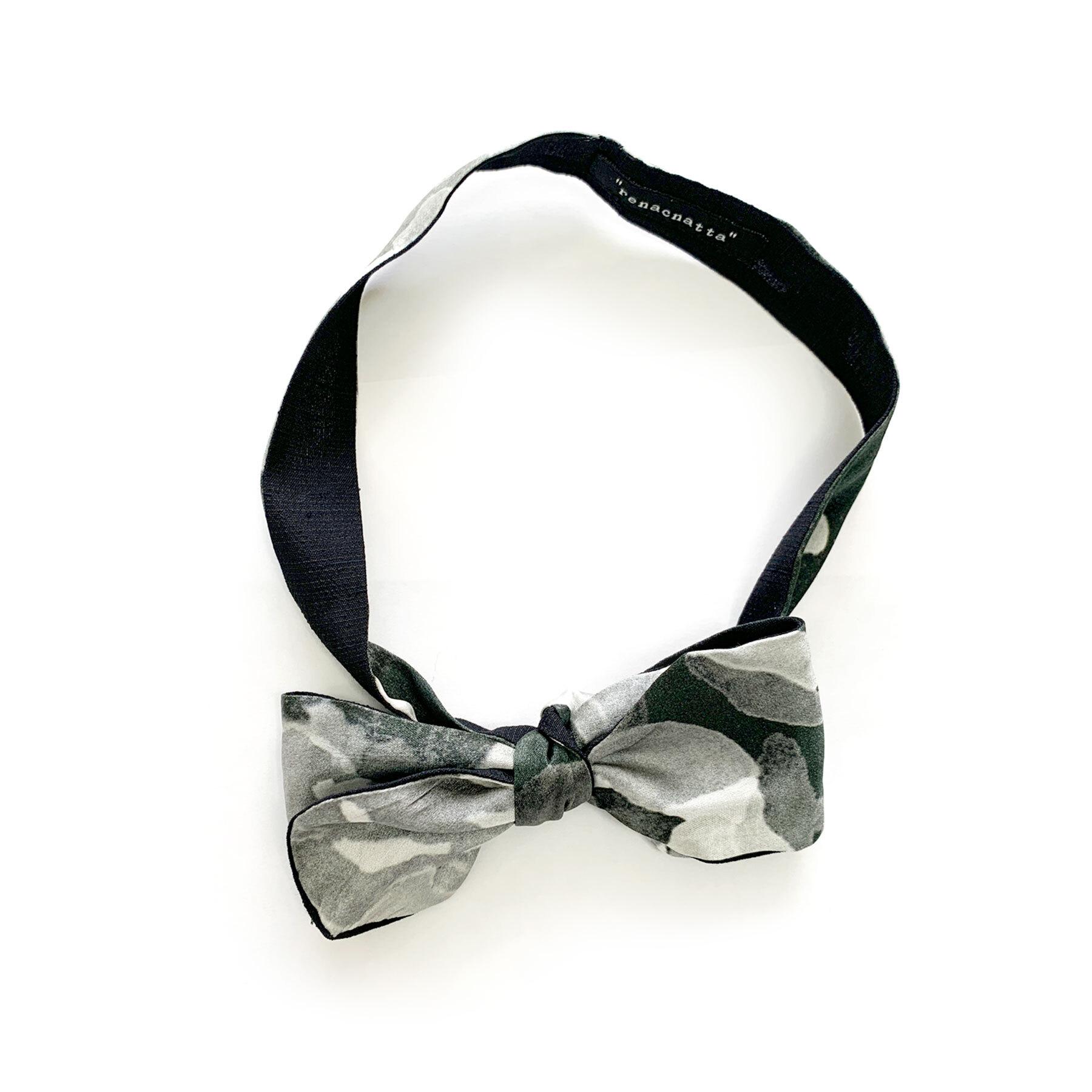 Gray - Bow Tie
