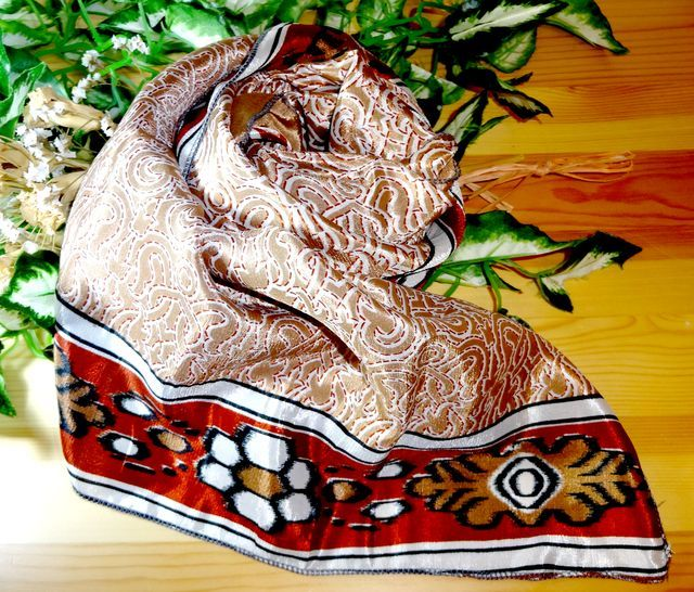 saris-021 【新価格】シルクサリー スクエアショール