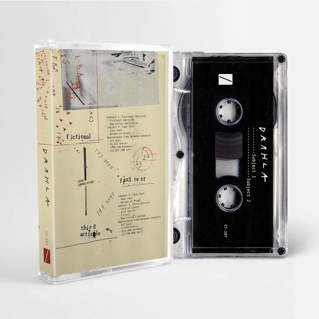 Drahla / A Compact Cassette(100 Ltd Cassette + ZINE)
