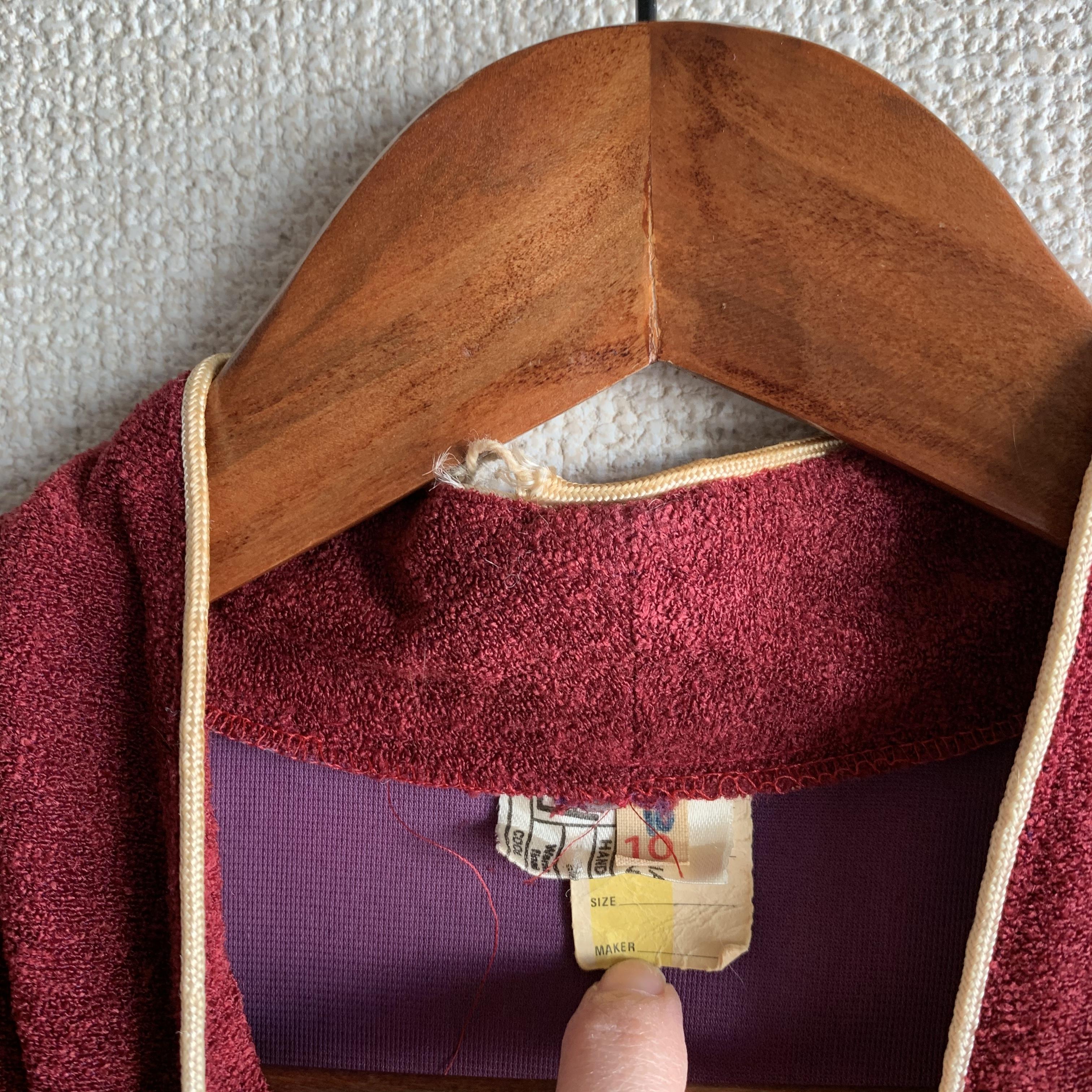 【SALE】vintage design darkpink tops