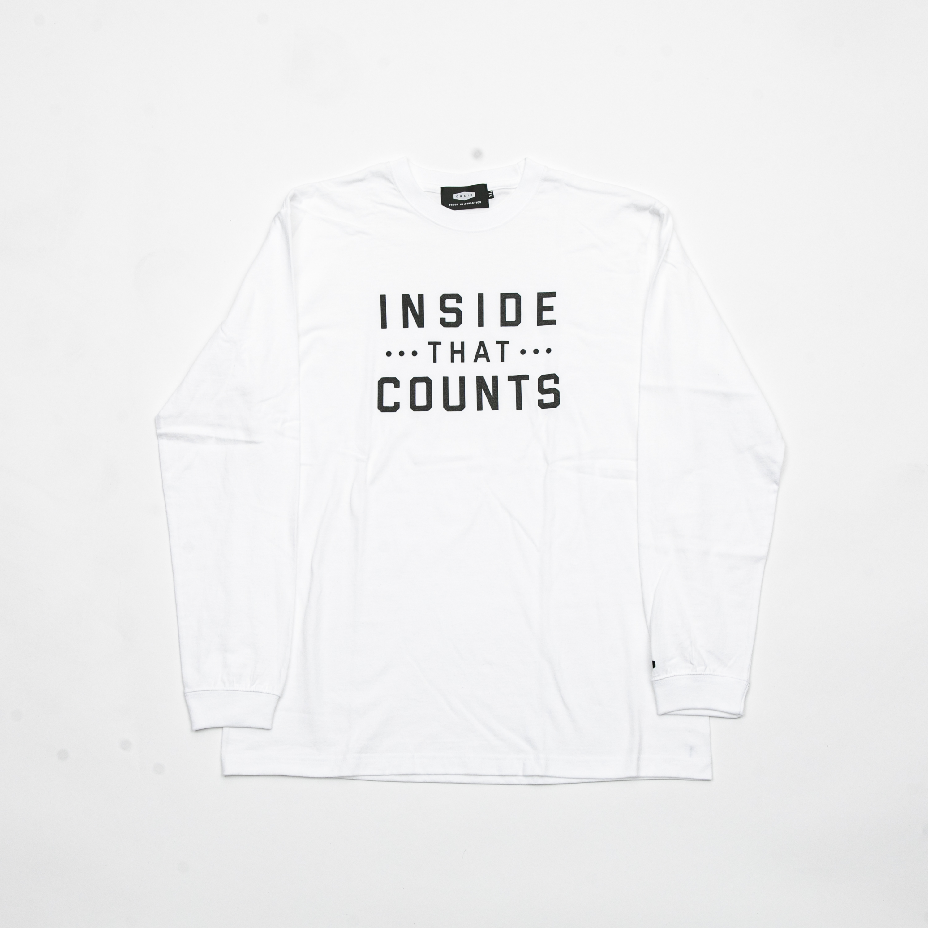 INSIDE THAT COUNTS T-SHIRTS WHITE