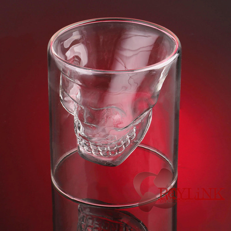 【グラス】スカルヘッドショットグラス 150ml