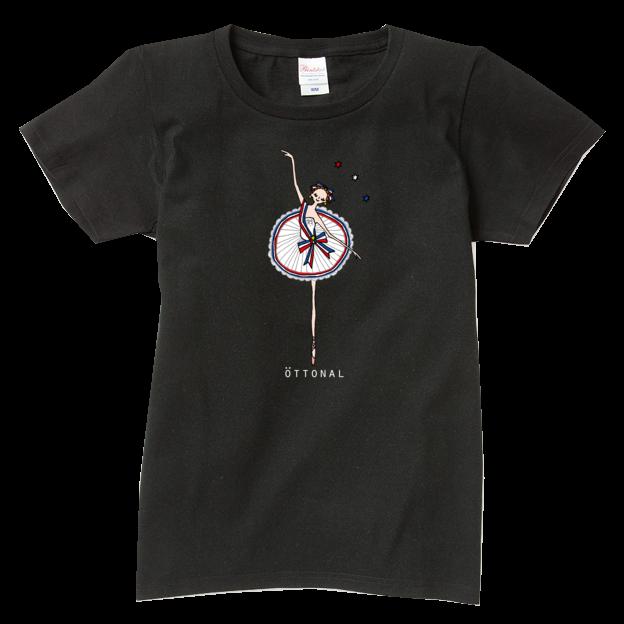 パリの炎 Tシャツ(レディース) - 画像2