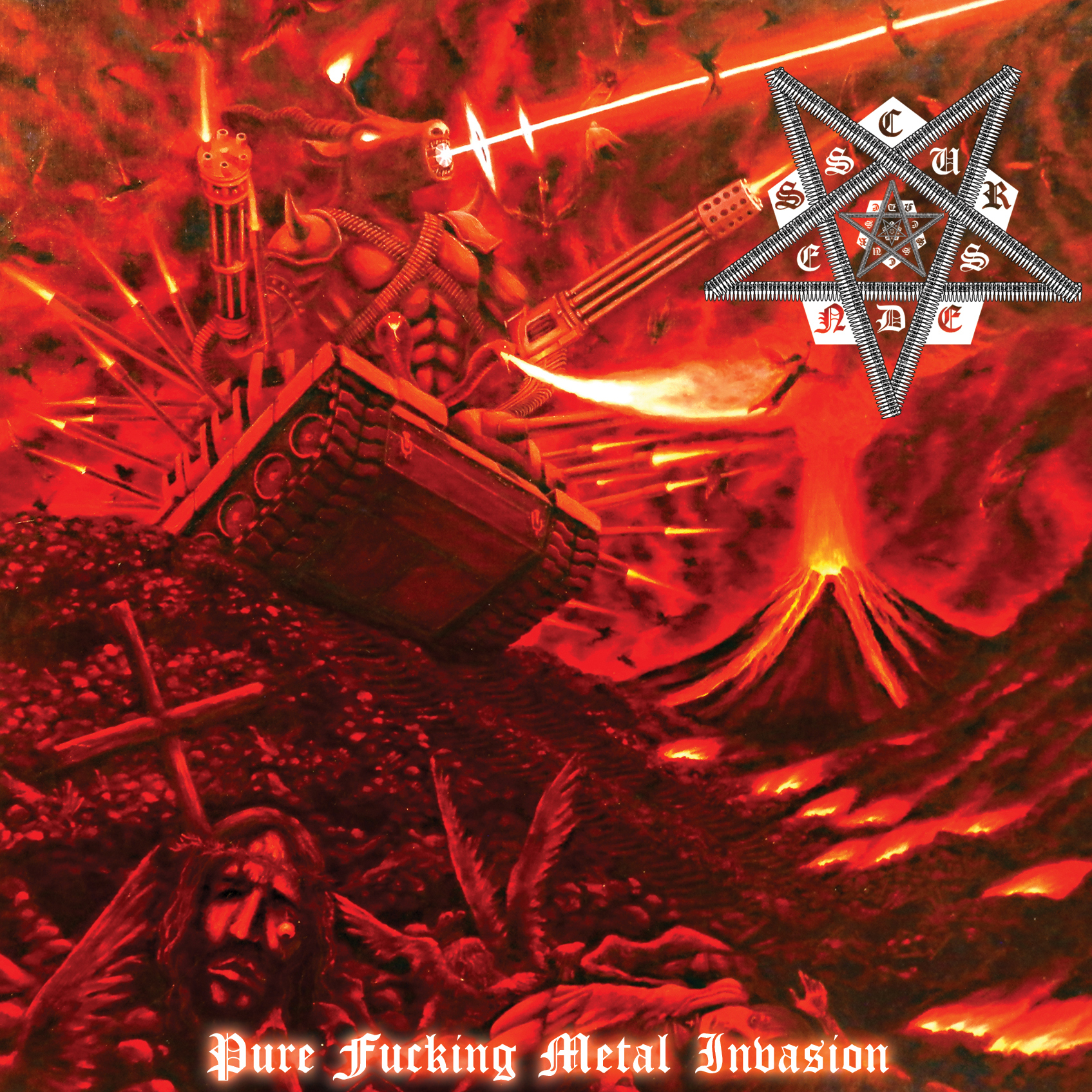 [IOSR CD 005] CURSEDNESS 『Pure Fucking Metal Invasion』