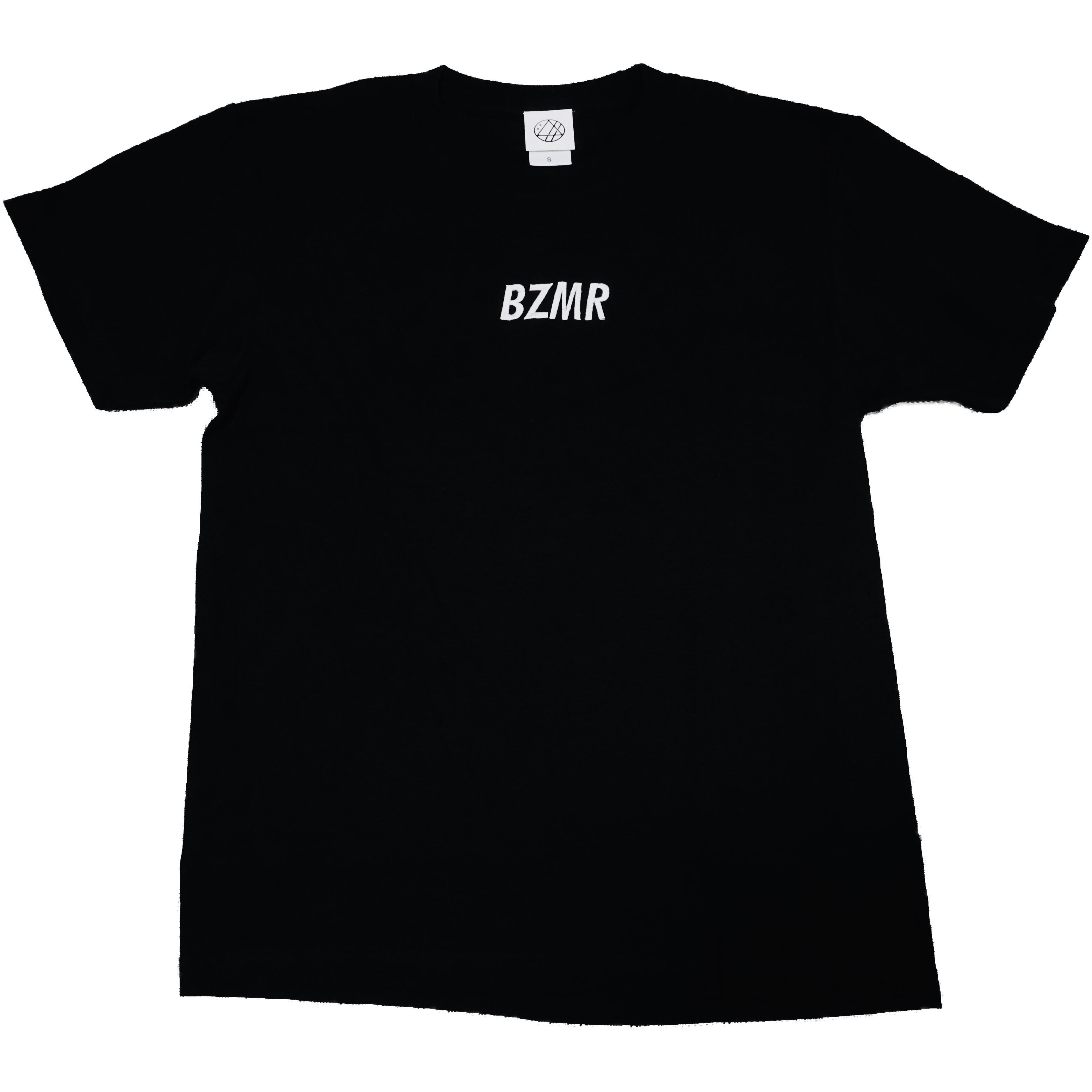 BZMRシンプル刺繍Tee (ブラック) - 画像1