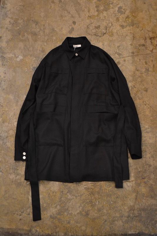 a-l / 006 Wool Viyella Safari Jacket