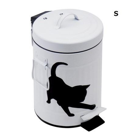 猫ダストボックス(ダストビンごみ箱クロネコ)