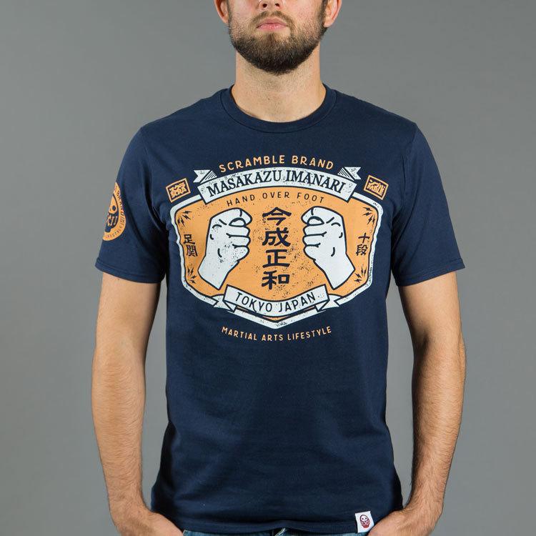 Scramble × Imanari Masakazu 足関十段、今成正和選手とスクランブルのコラボTシャツ