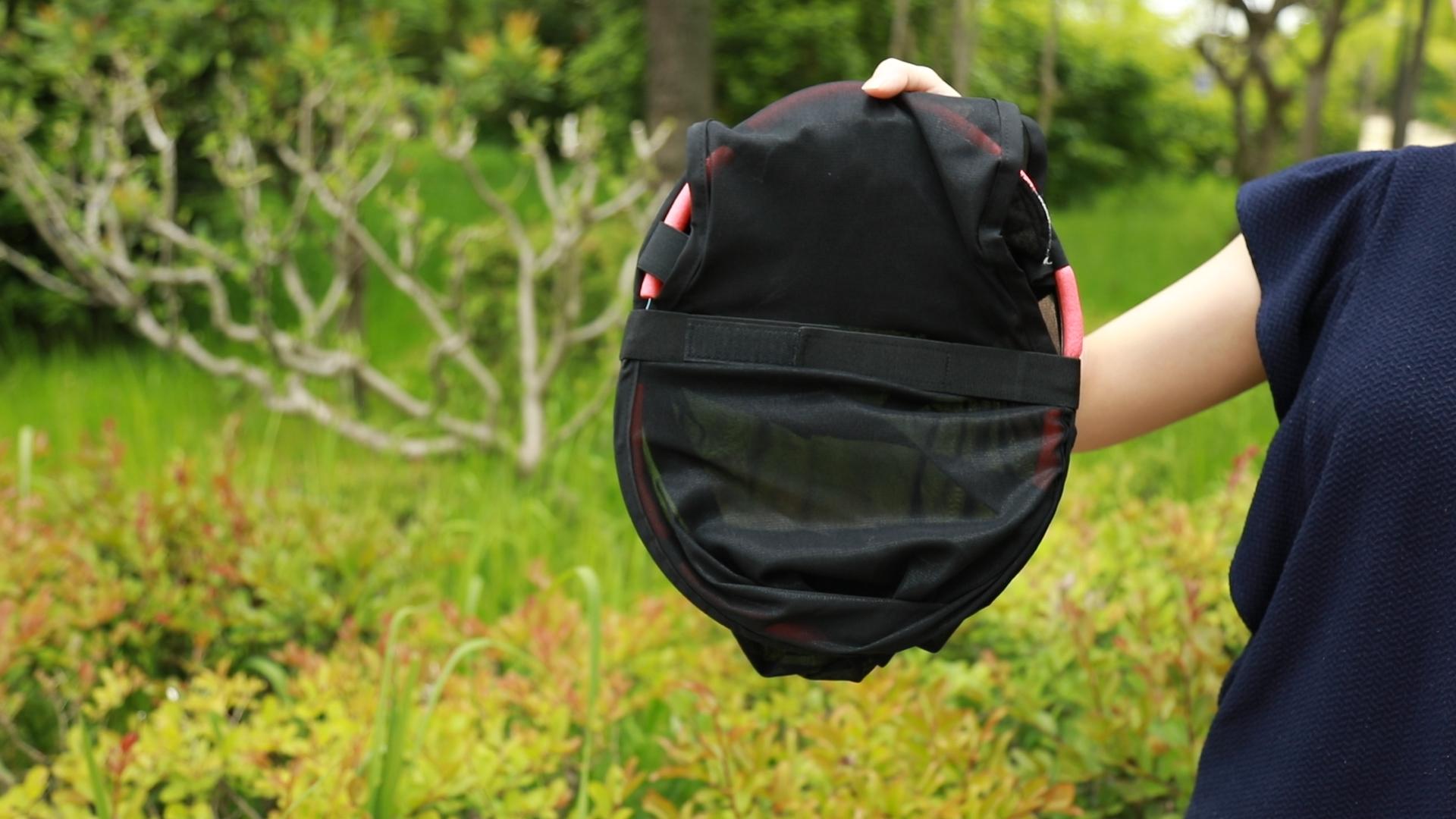 かさまる ベーシック 黒 Lサイズ【ka-003B】