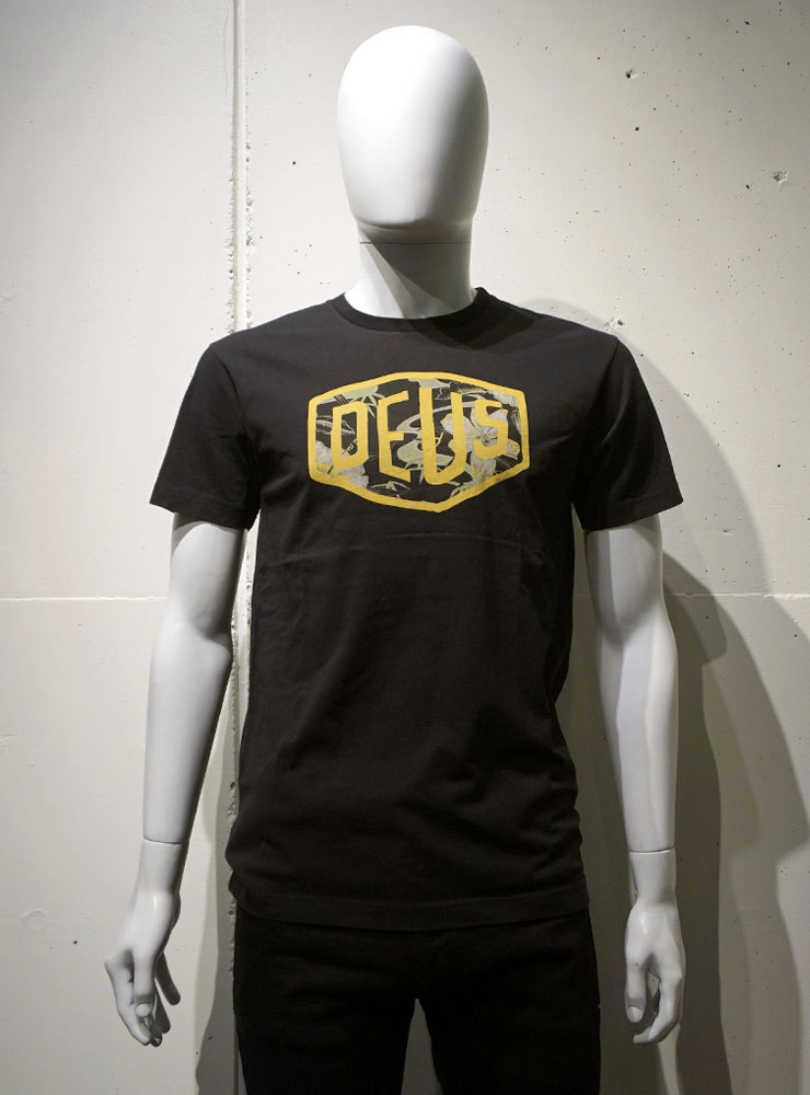 Deus ex Machina Aloha Shield Tee ブラック