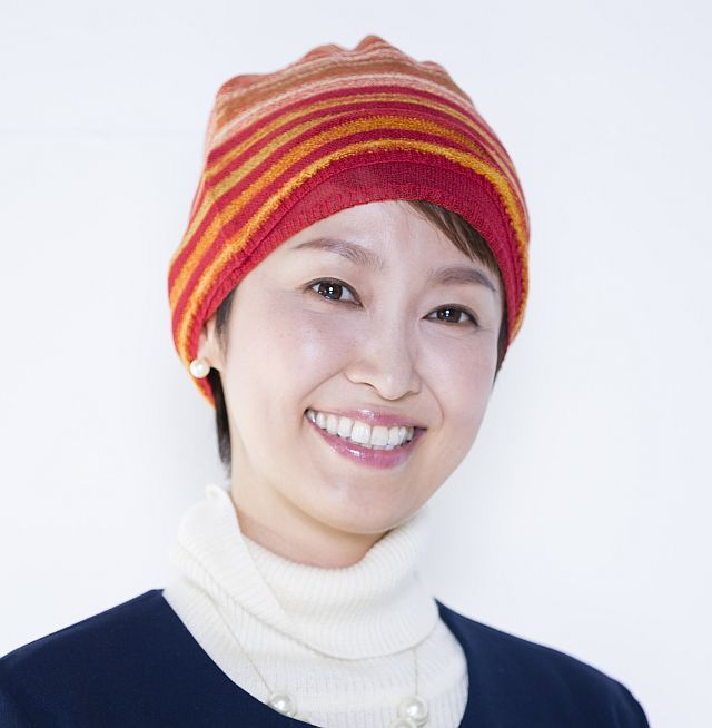 【送料無料】こころが軽くなるニット帽子amuamu|新潟の老舗ニットメーカーが考案した抗がん治療中の脱毛ストレスを軽減する機能性と豊富なデザイン NB-6552|絣3WAYストール - 画像5