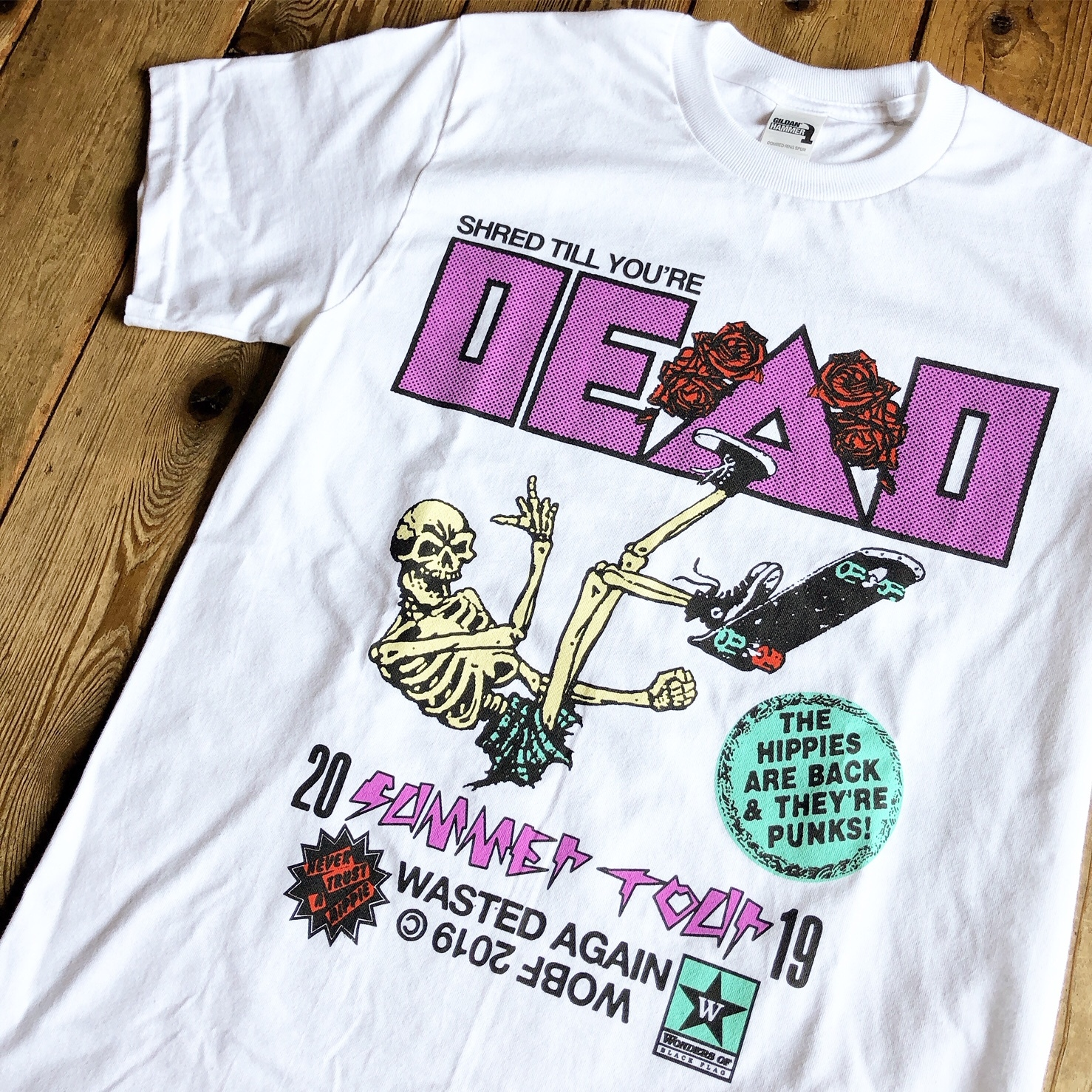 """""""SHRED TILL YOU'RE DEAD 2"""" S/S Tee"""