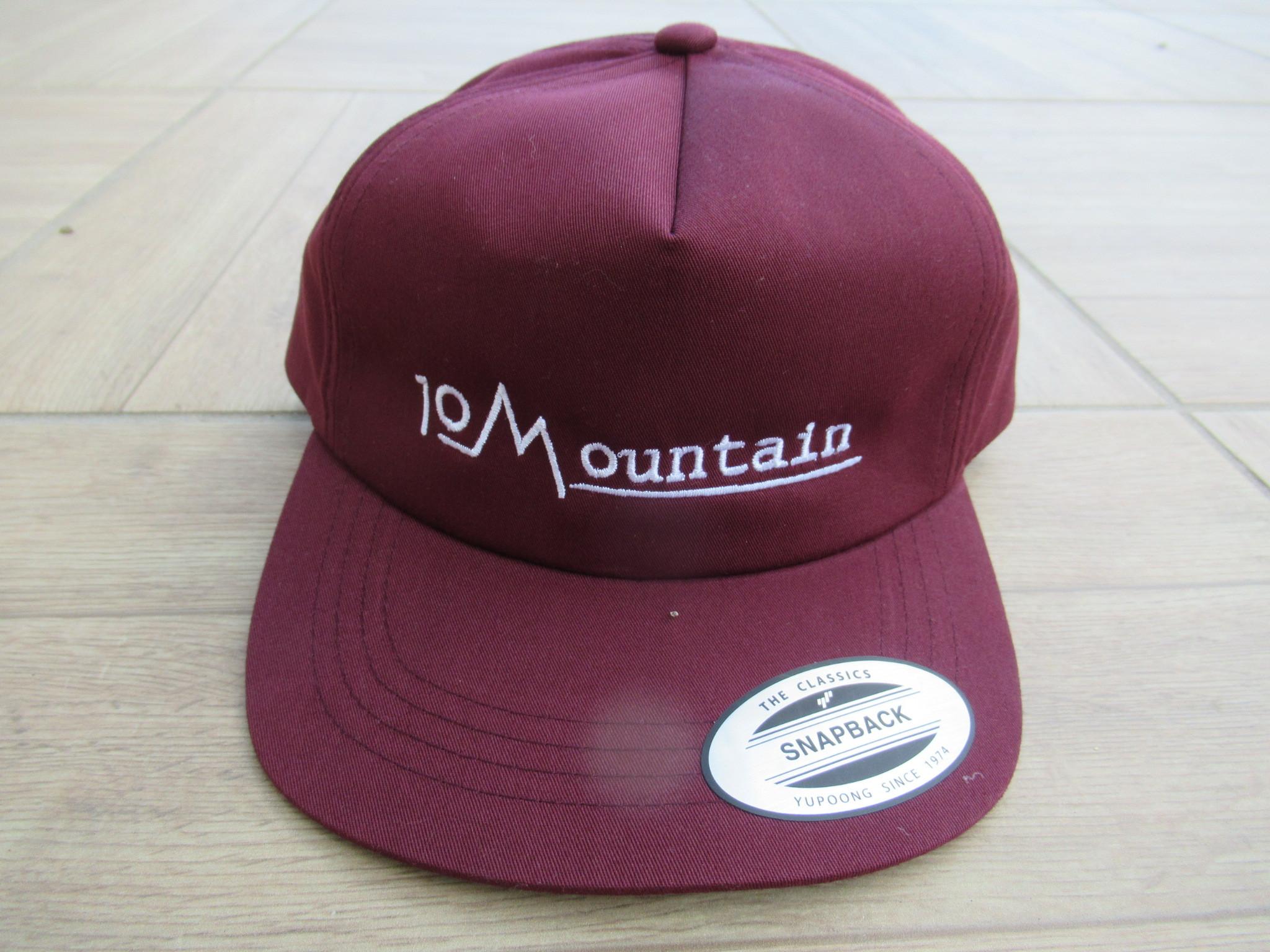 10山 Logoキャップ