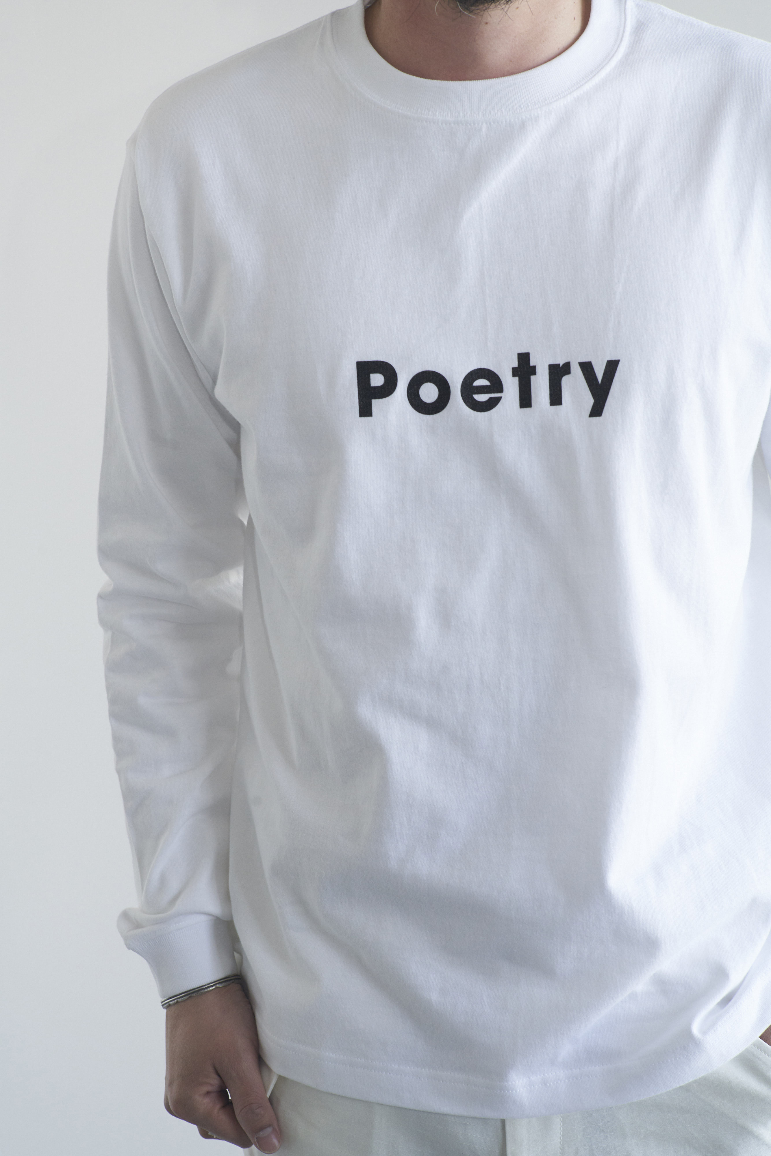 POET MEETS DUBWISE Poetry Long Sleeve T-Shirt