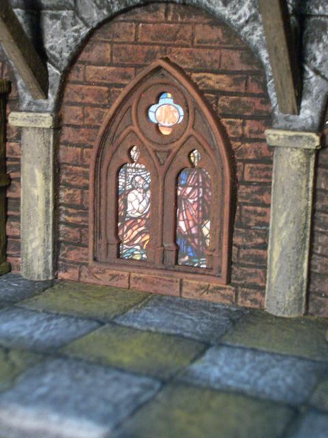ゴシック様式の大窓(4個セット) - 画像3