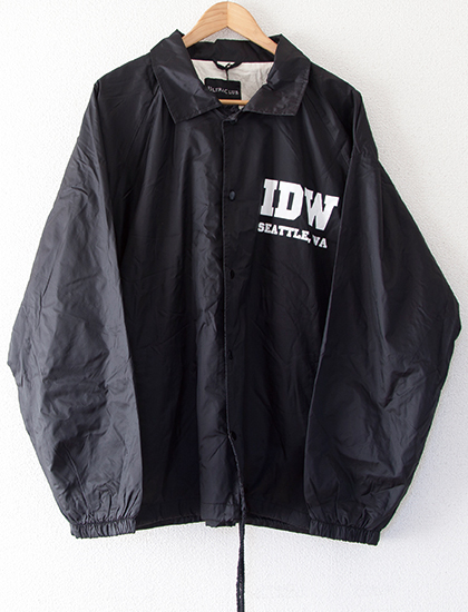 【I DECLARE WAR】Malevolence Coach Jacket (Black)