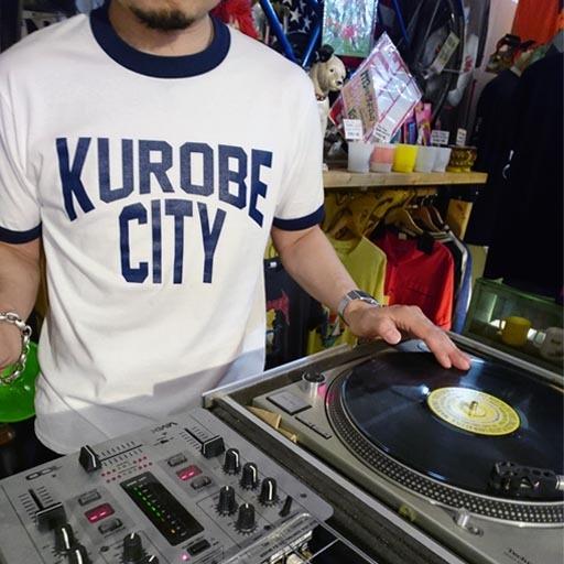 KUROBE CITY リンガーTシャツ【黒部市】