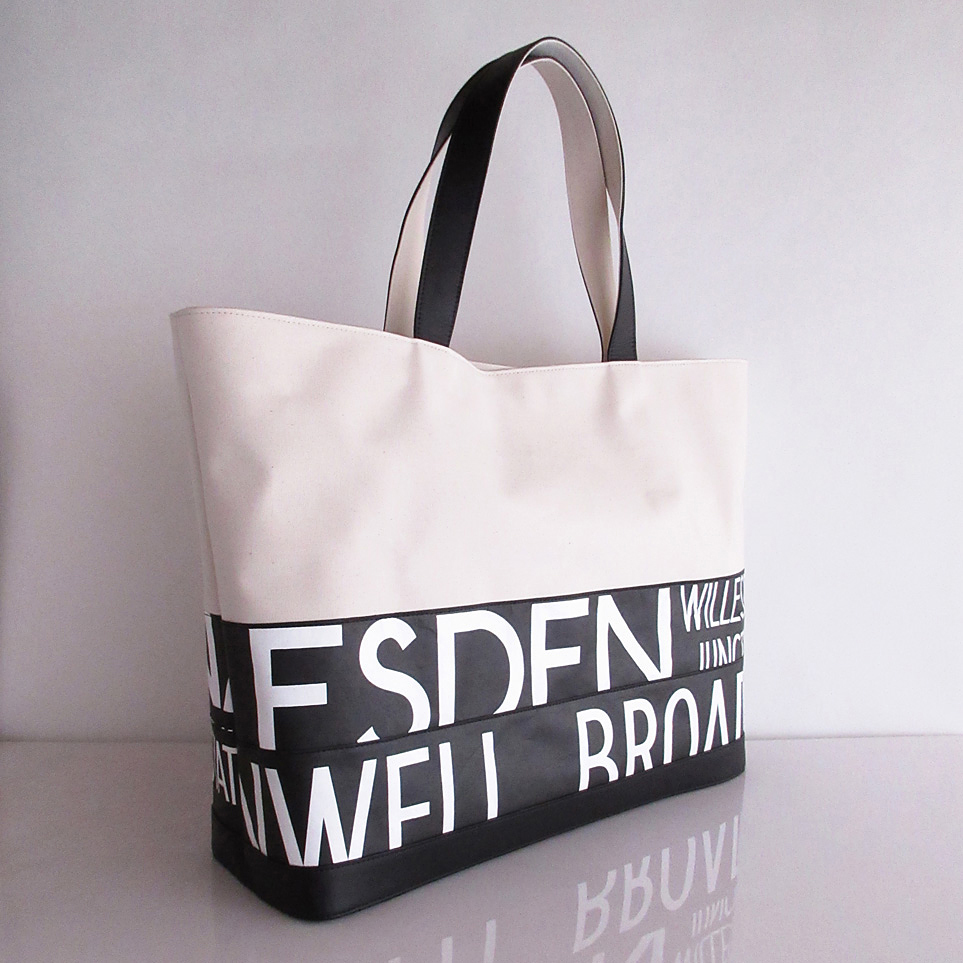 Tote Bag (L) / White  TLW-0013