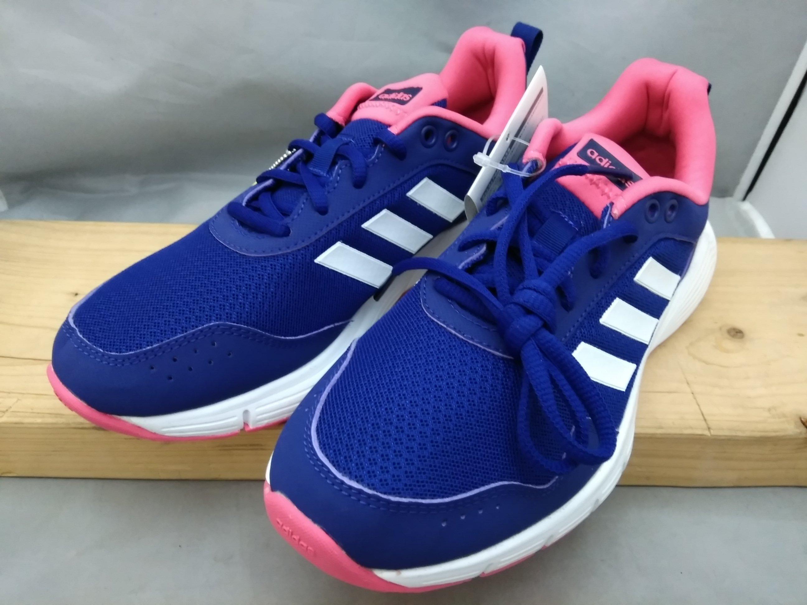 adidas アディダス シューズ 靴 23cm CG3859 青 mu977c