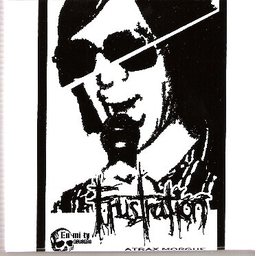 Atrax Morgue ‎– Frustration(Business Card CDR)USED