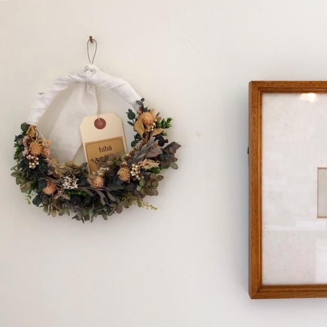 hiba -Natural wreath-  リース ボタニカル
