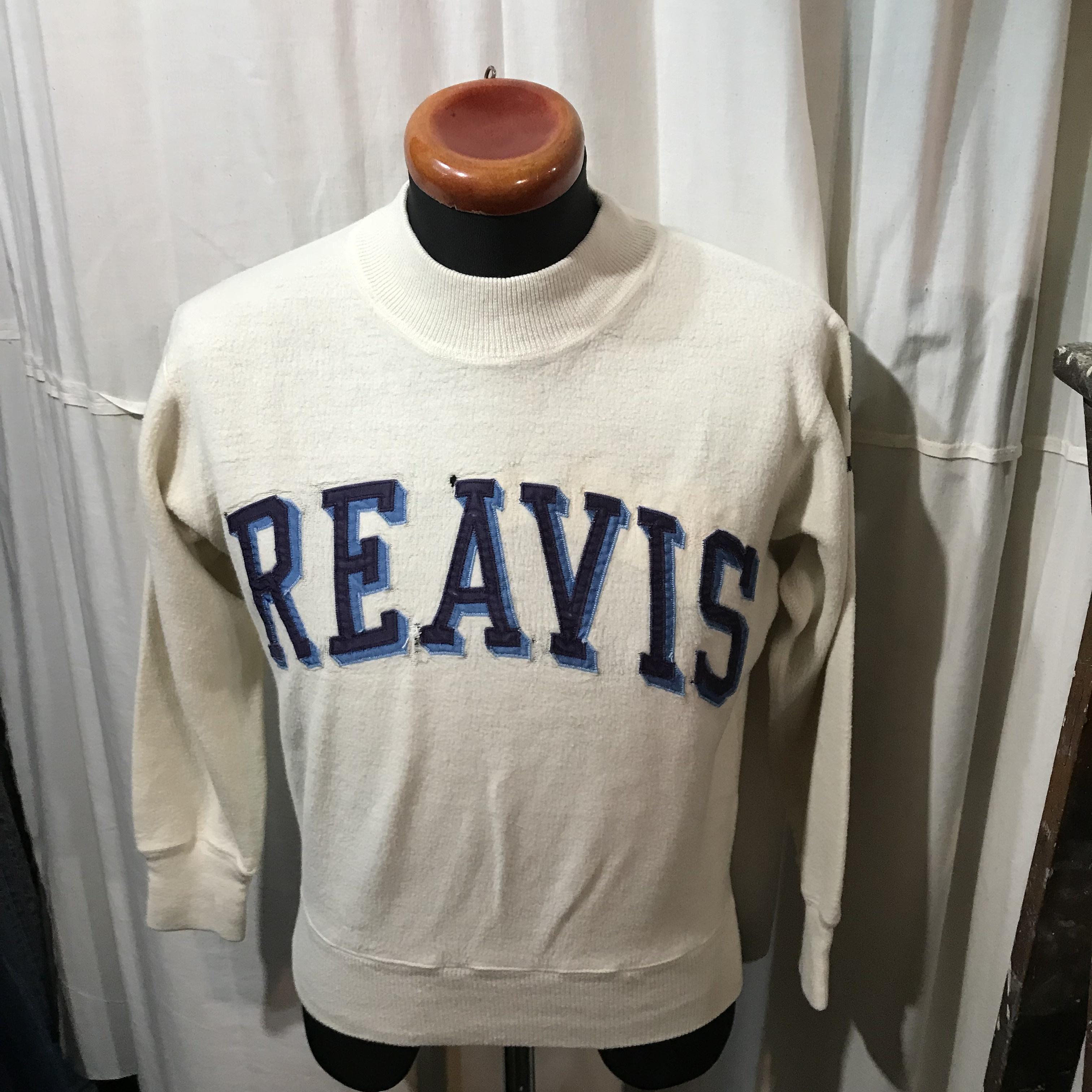 old モックネック スウェットシャツ REAVIS メンズS~M