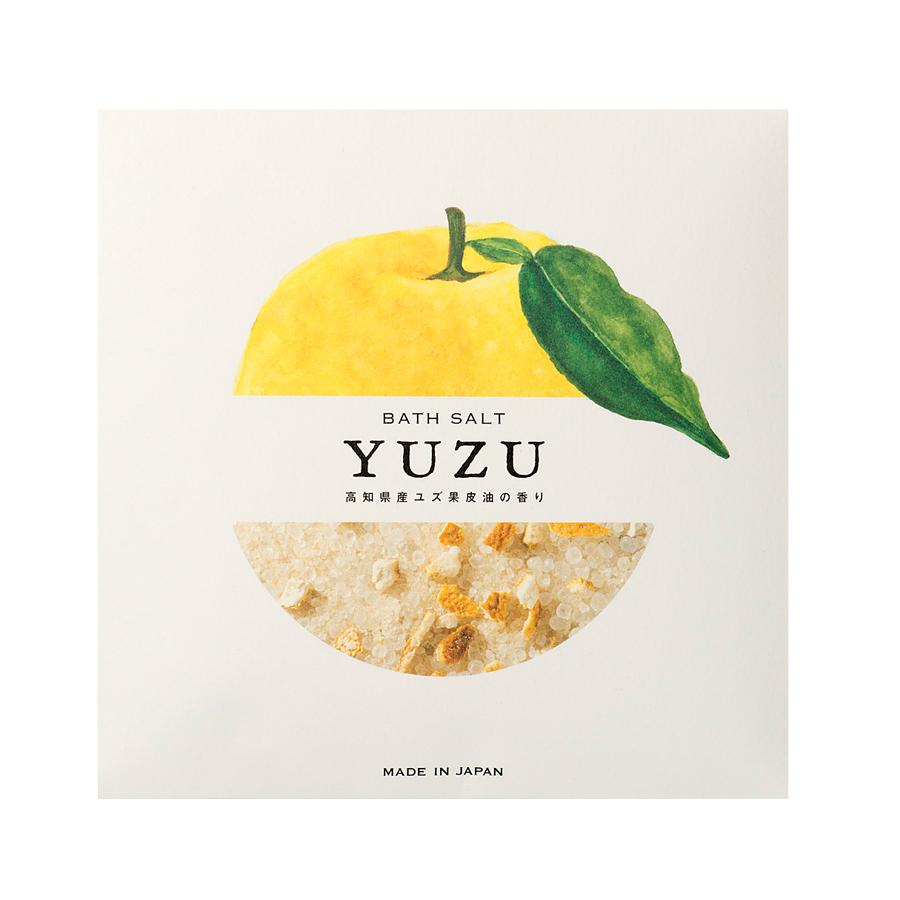 高知県産YUZU ピール入りバスソルト