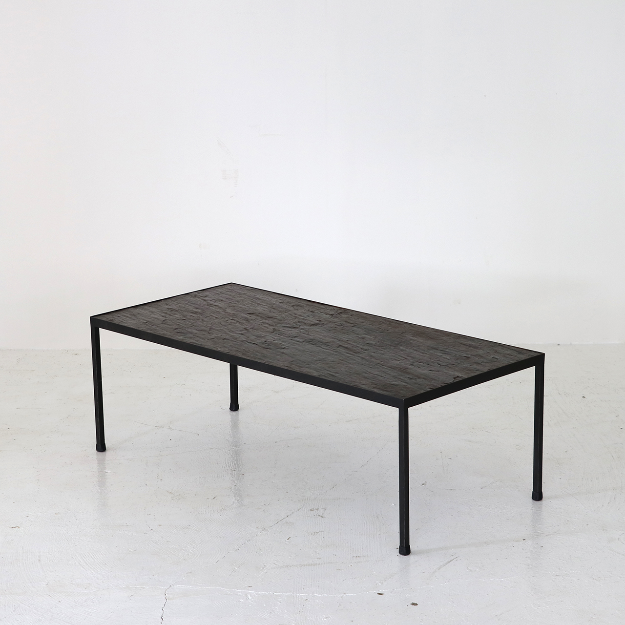 Slate top coffee Table /  Floris Fiedeldij for Artimeta