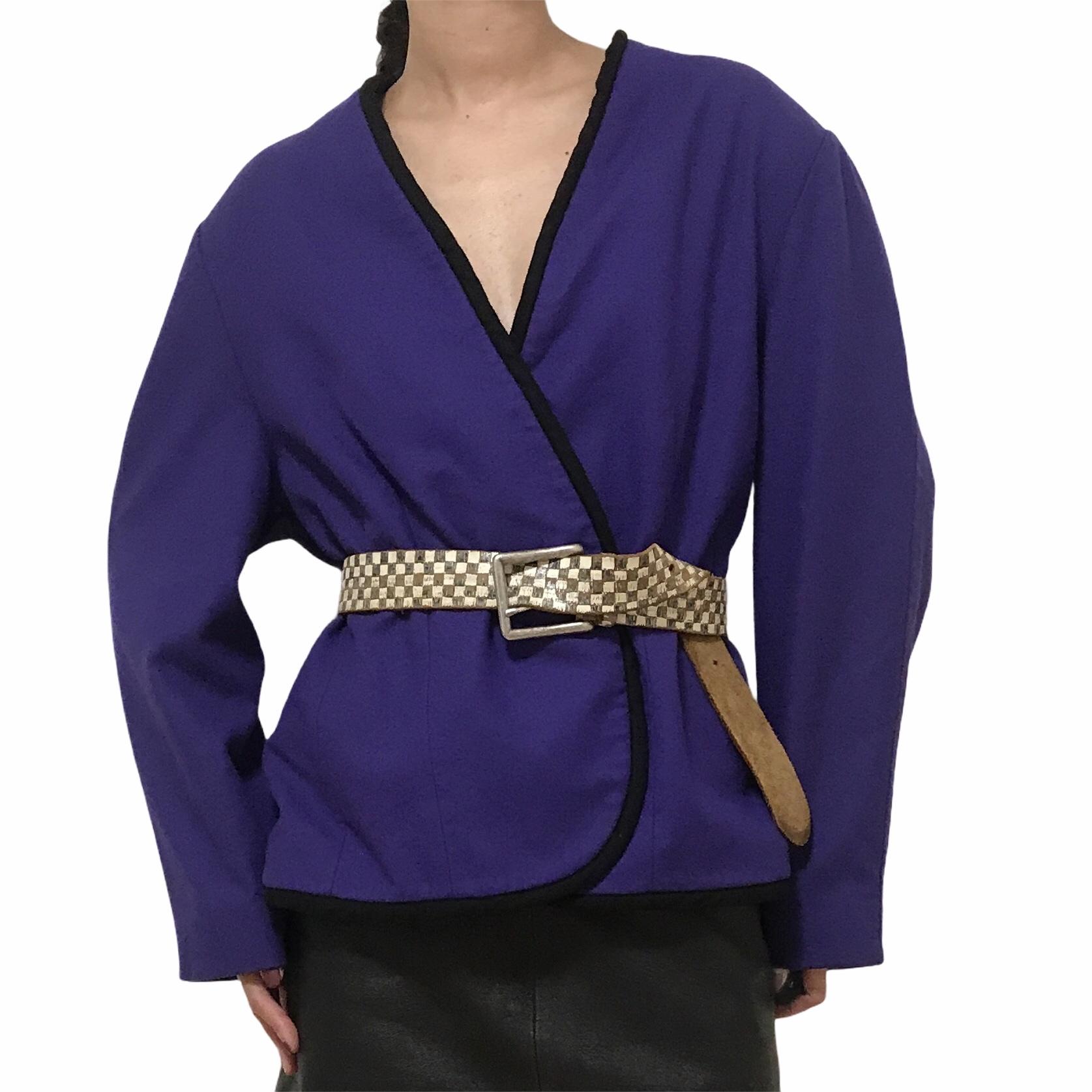 80's PENDLETON Purple Jacket