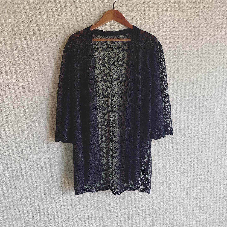 vintage lace haori