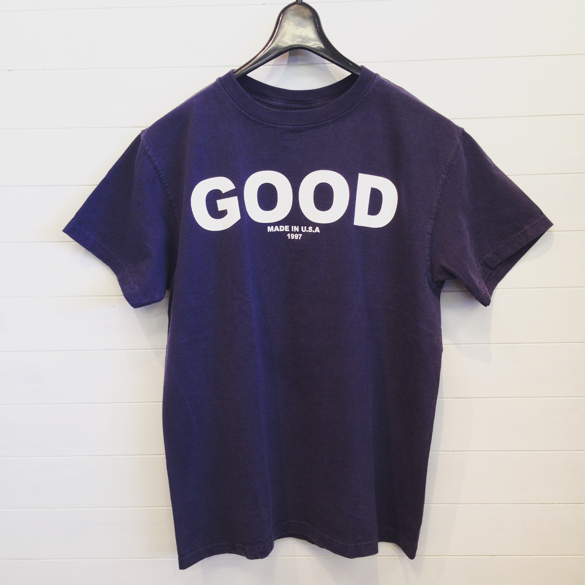 "Good On(グッドオン)S/S ""GOOD ON"" LOGO T/""GOOD ON"" ロゴTシャツ NAVY/WHITE"