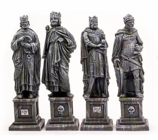 四賢王の像(4体) - 画像3