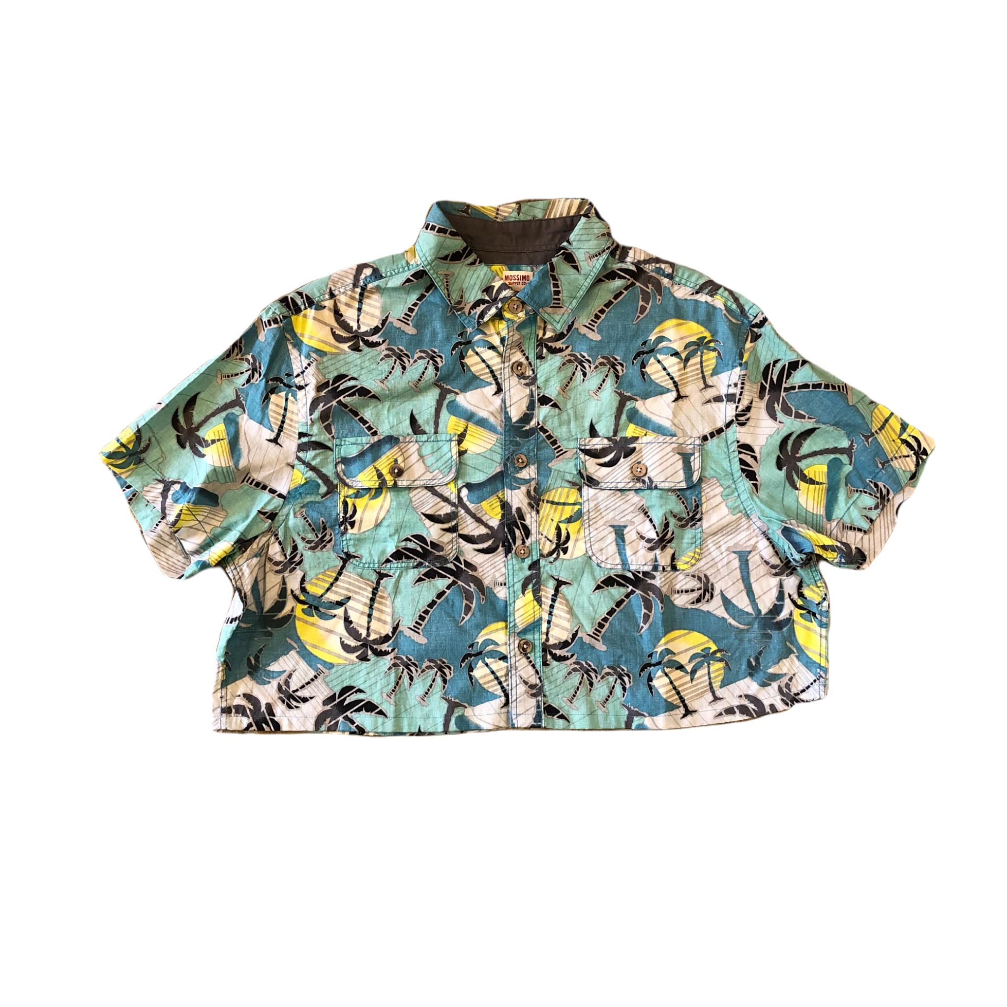 Resize Aloha Print Shirts ¥5,400+tax