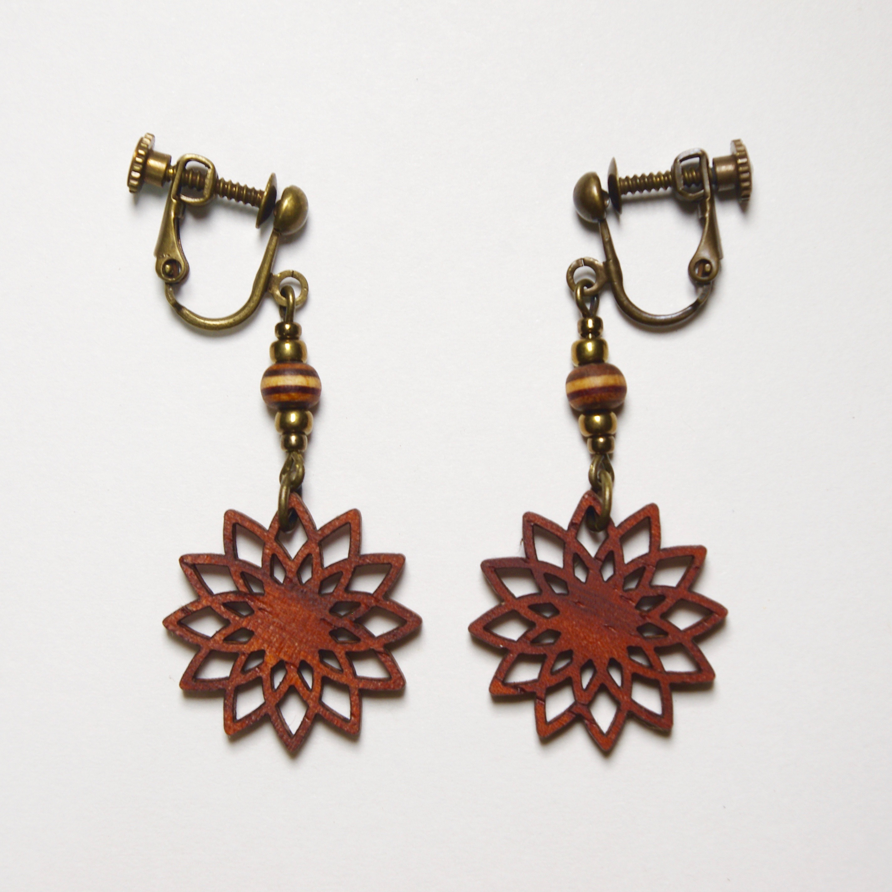 geometric earring