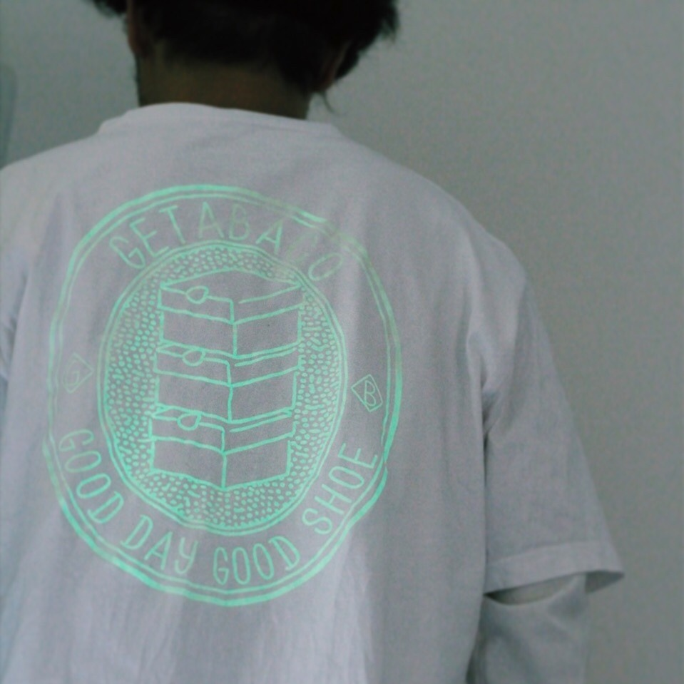 """GETABACO G.I.D.TEE """"FREE YOUR MIND PACK"""" [WHITE]"""
