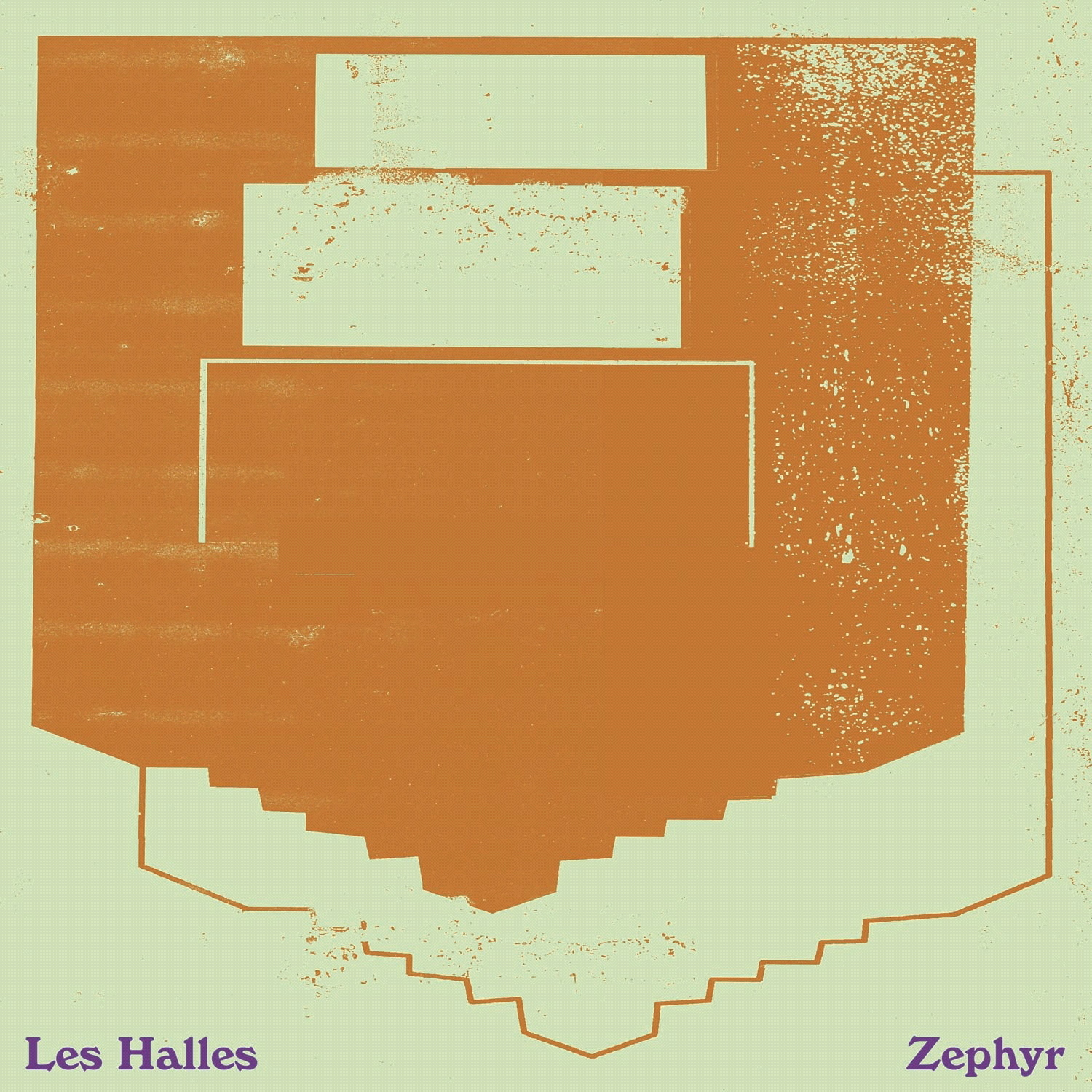 Les Halles『Zephyr』(not not fun)【レコード/アンビエント】