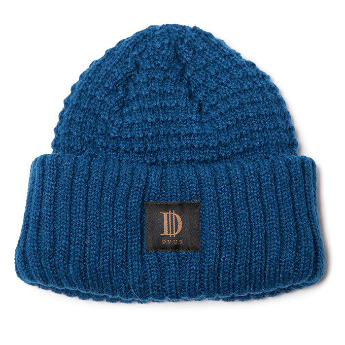 Deviluse(デビルユース) | D Roll Beanie(Blue)