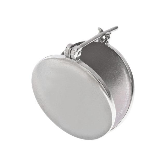 Circle Plate Earrings サークルプレートピアス(片耳用)ELE0010S