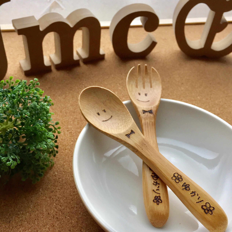 竹製スプーンフォークセット