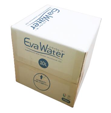 【EVW-10T3】 エヴァウォーター 除菌消臭液 10リットル キューブテナー 300ppm