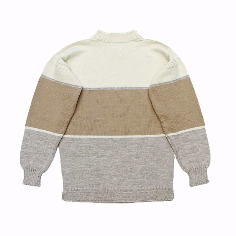 BROWN by 2-tacs × GUERNSEY WOOLLENS / TRADITIONAL WIDE BORDER