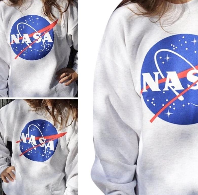 NASA ロゴ トレーナー