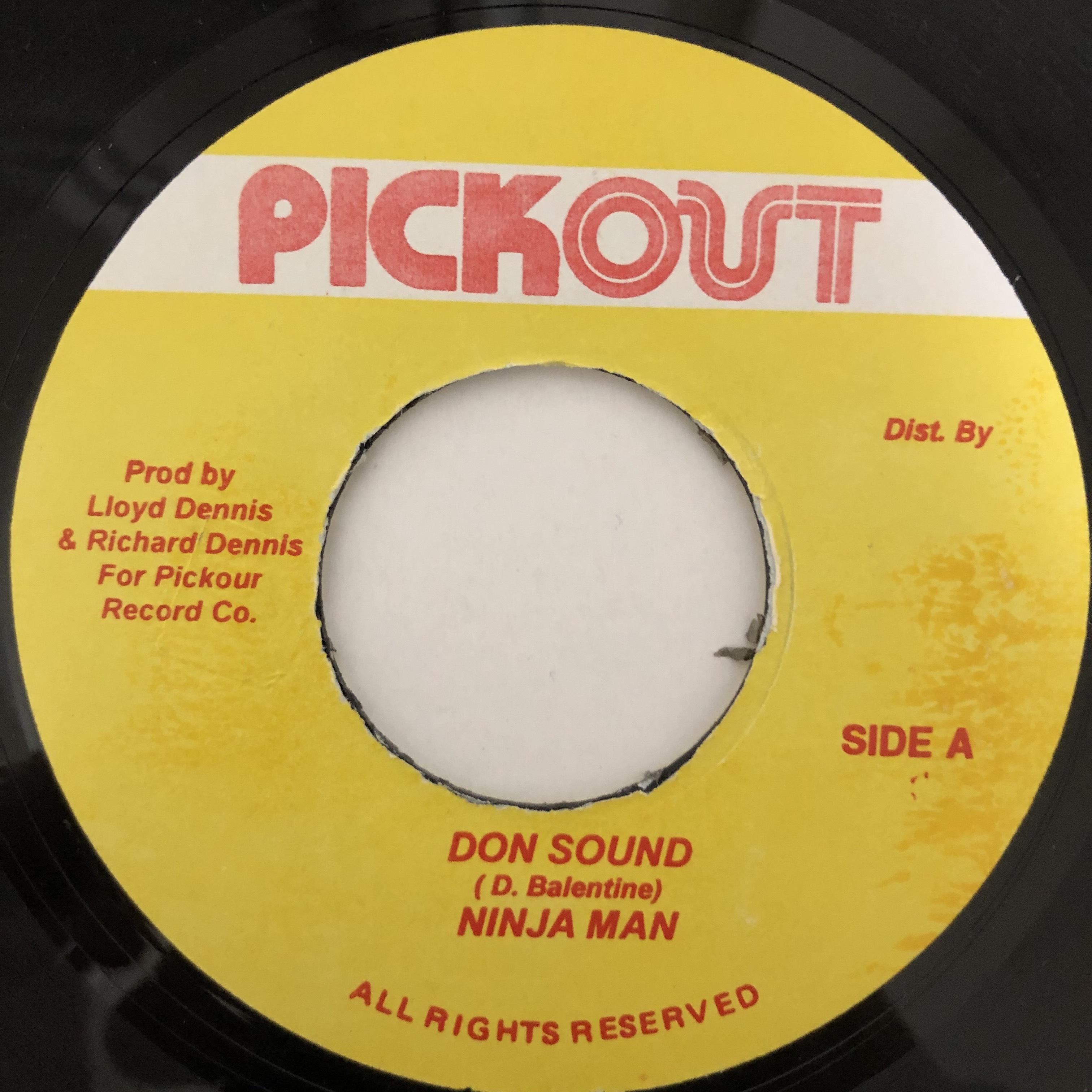 Ninjaman - Don Sound【7-20472】