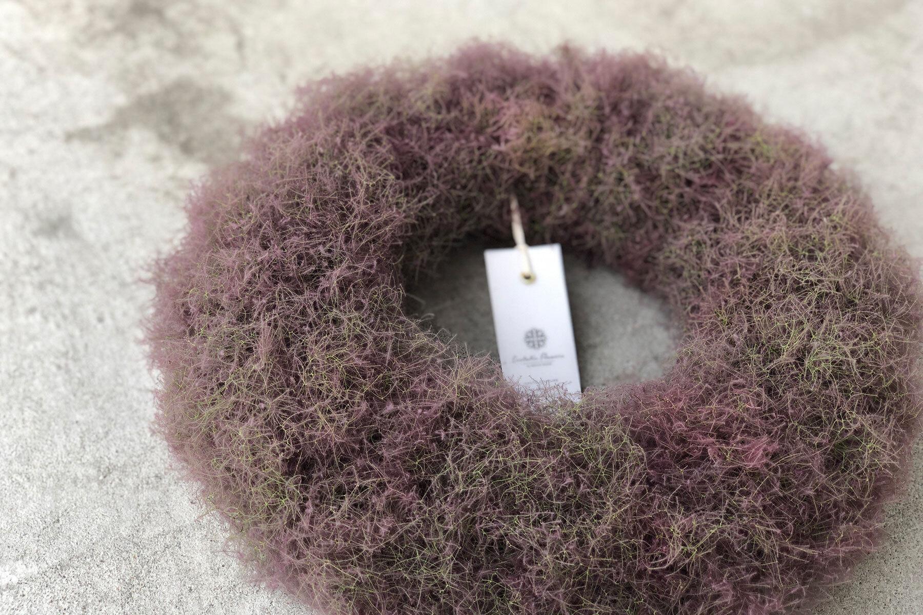 Smoke tree wreathe | スモークツリーリース