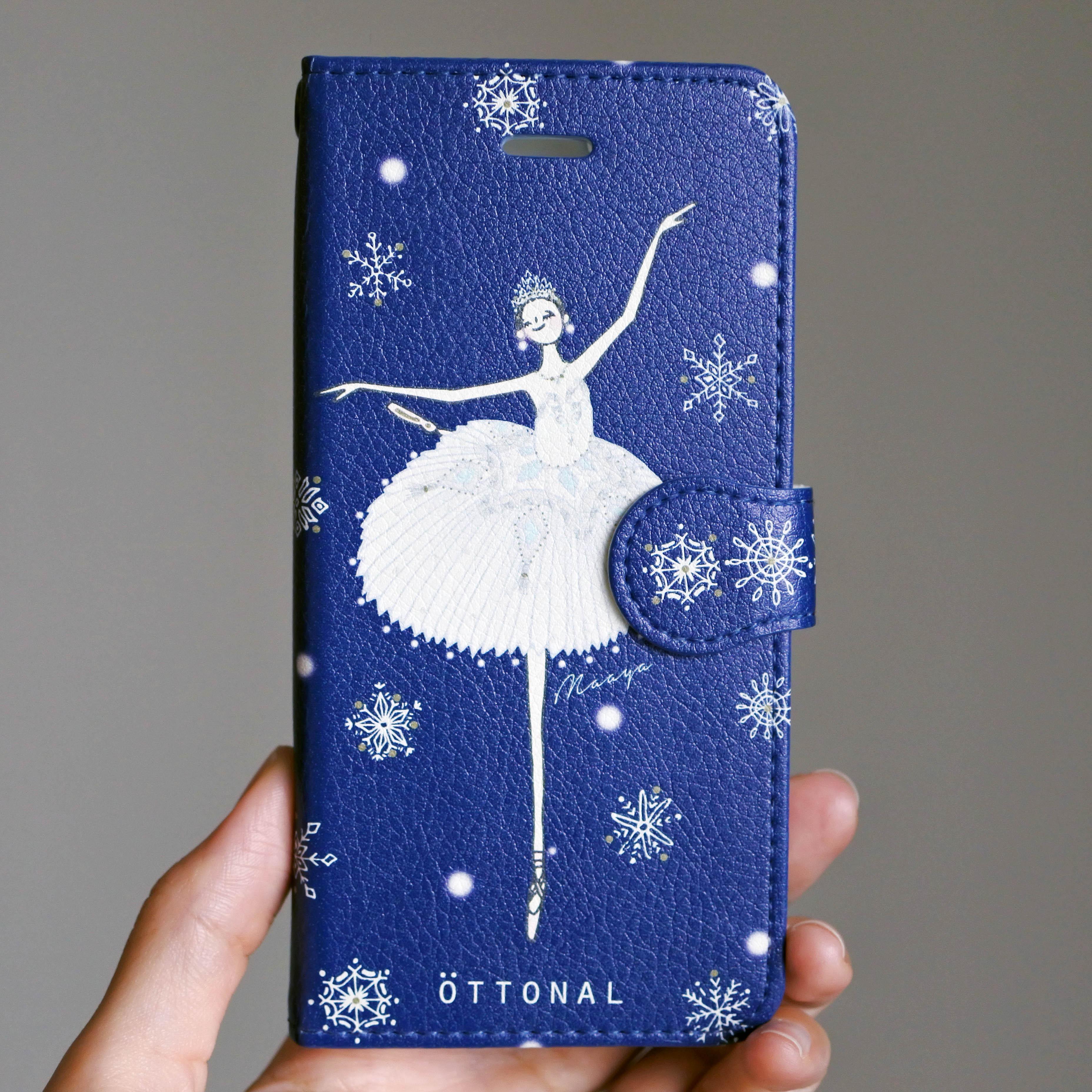 (iPhone)雪の女王 手帳型スマホケース - 画像2