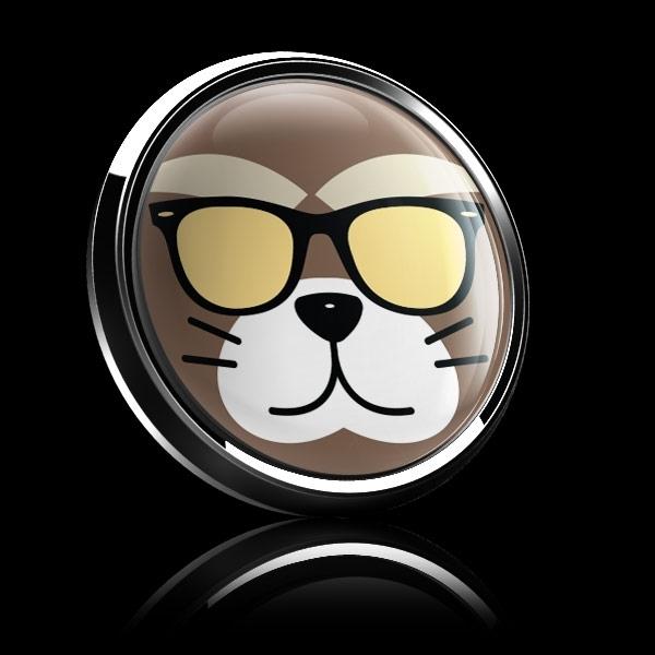ゴーバッジ(ドーム)(CD0892 - Fancy Cat) - 画像4