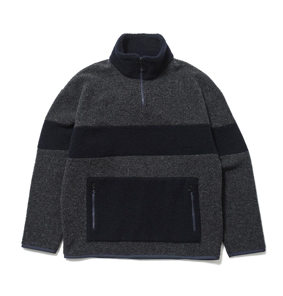 【SON OF THE CHEESE】Fleece zip(GRAY)