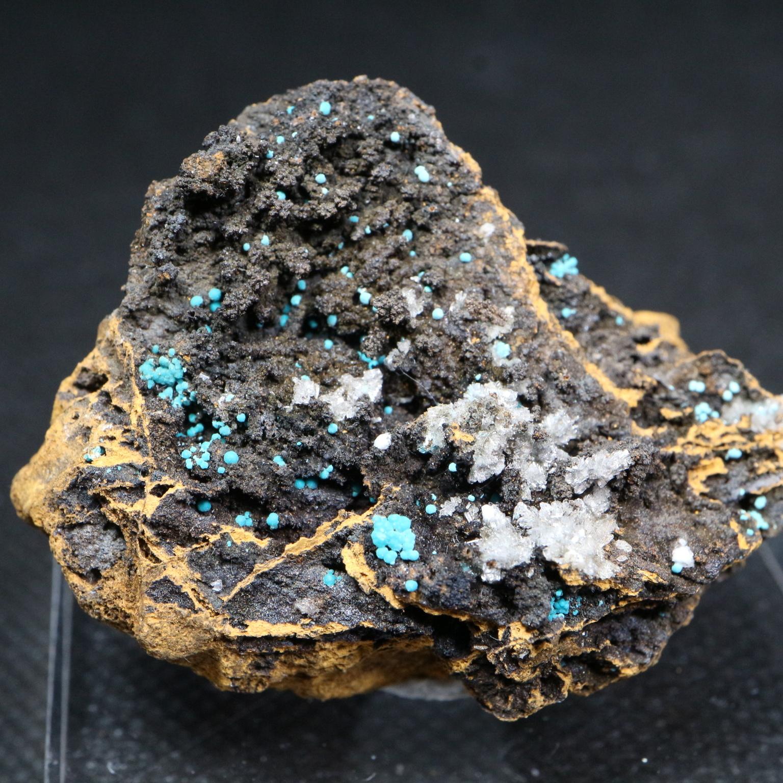 ユニーク!アメリカ産 ヘミモルファイト & ローザサイト  9,7g HMP001 鉱物 天然石 原石 パワーストーン