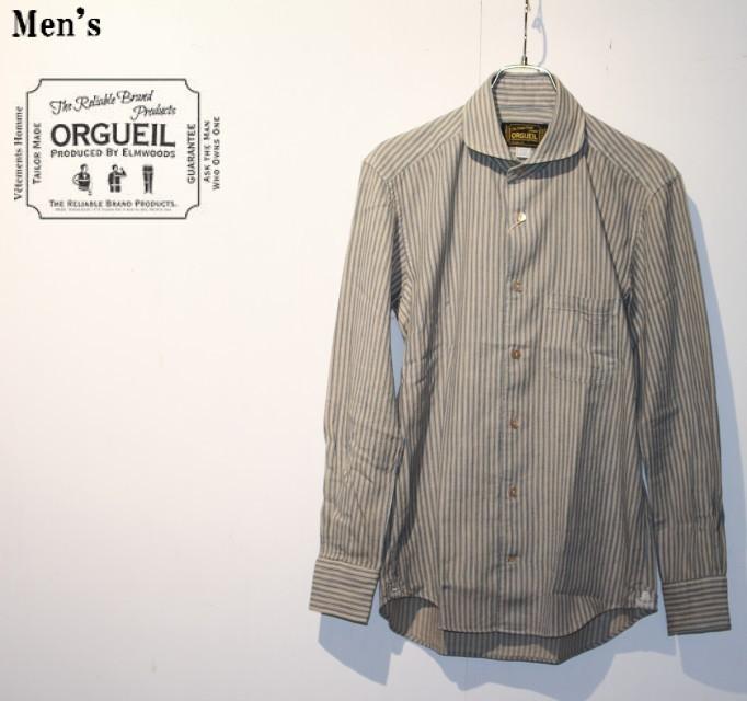ORGUEIL  ウィンザーカラーシャツ Windsor Collar Shirt OR-5002B