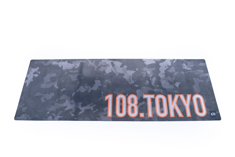 108.Tokyo ヨガマット 【カモフラグレー】108original 12-O15-5